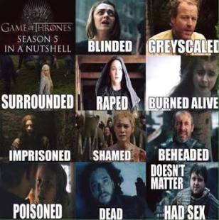 Game of Thrones - Season 5 Summary